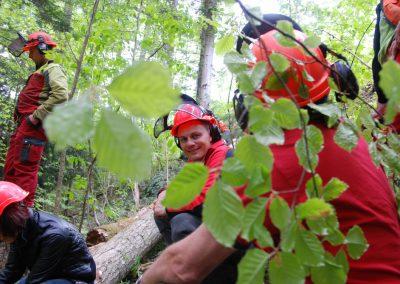 Un merci particulier au Centre de Formation Professionnel des Forestiers (CFPF) représenté ici par Monsieur Eric Locatelli