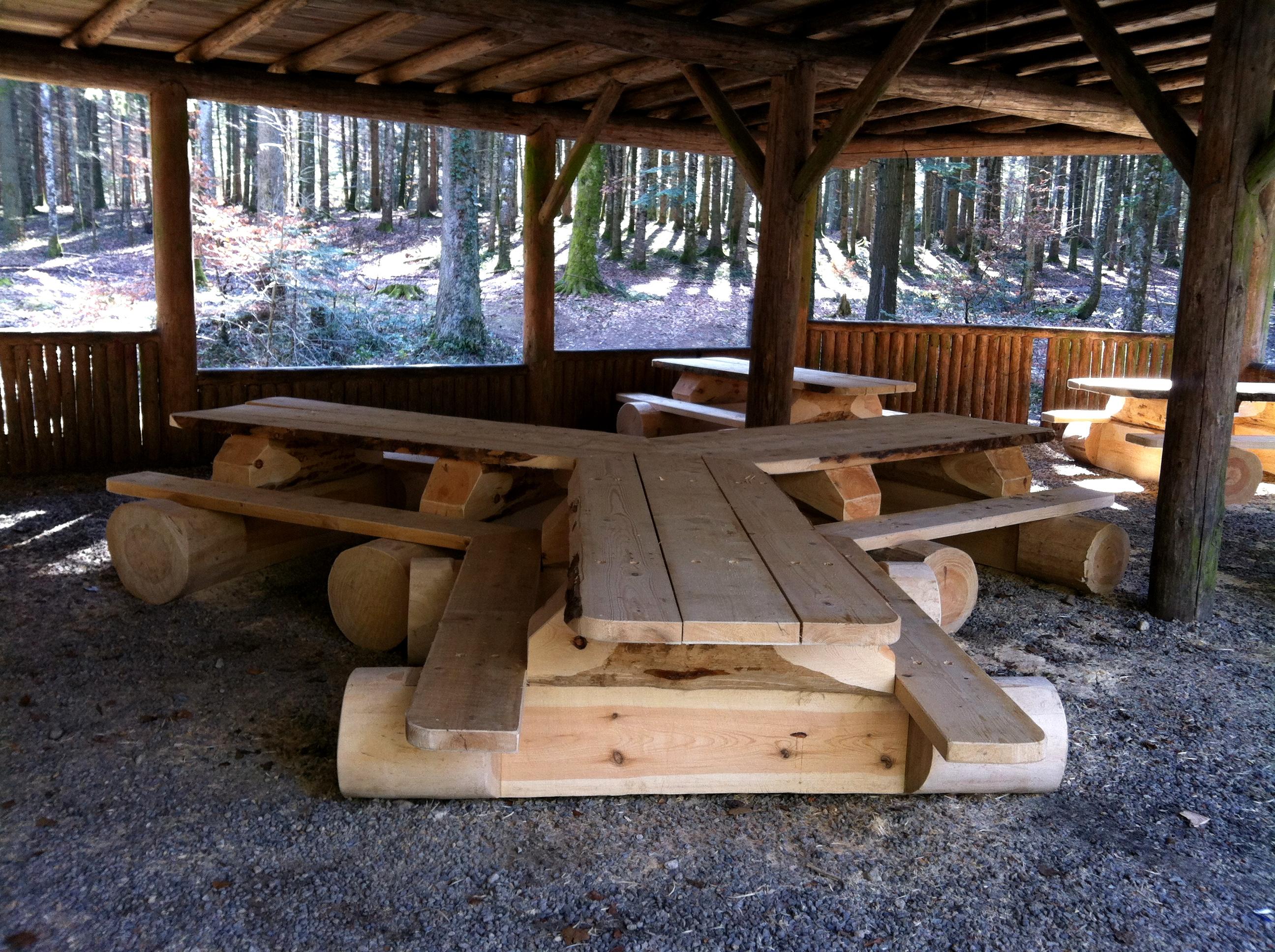 Nos nouvelles tables